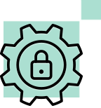 Icon for Improved security and compliance